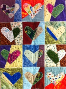 Quilted Hearts